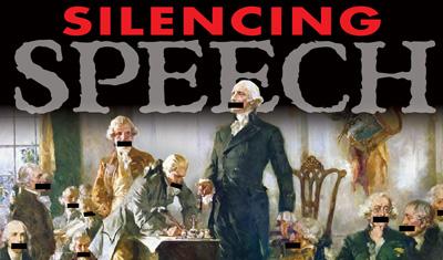 SILENCING-SPEECH