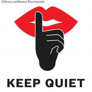 Keep Quiet iStock-1130293226